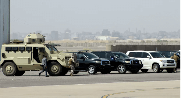 An explosion thundered at the government palace in Aden © AFP 2020 / Saleh Al-Obeidi