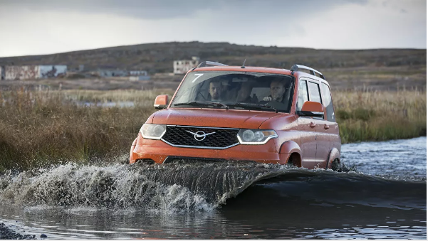 The USA admired the new version of the UAZ Patriot