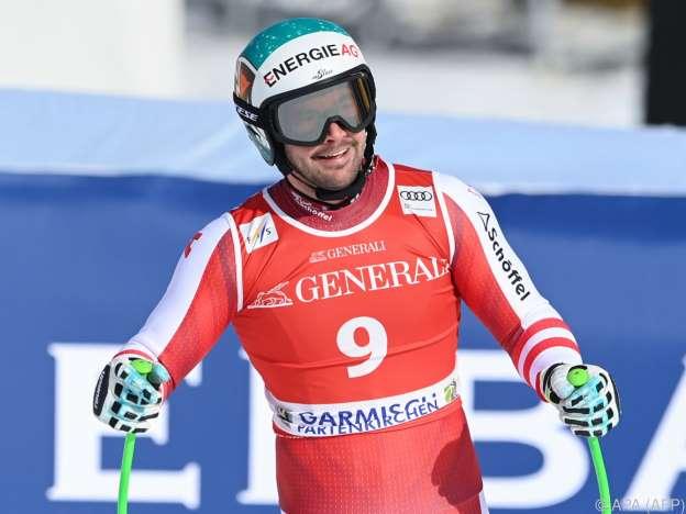Kriechmayr won Super-G in Garmisch ahead of Mayer - Franz 6.