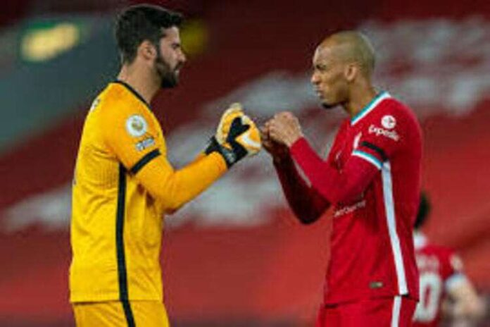 Klopp confirms Alisson and Fabinho's return to Liverpool against Chelsea