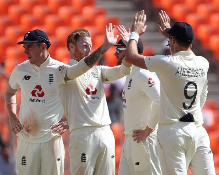 England hits back to restrict India to 80-4 in 4th test
