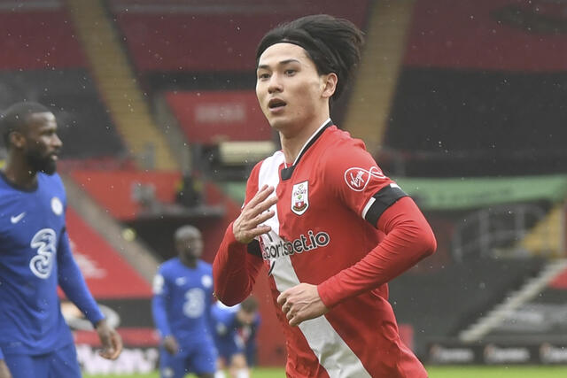 Minamino returns from the starting lineup after the injury.