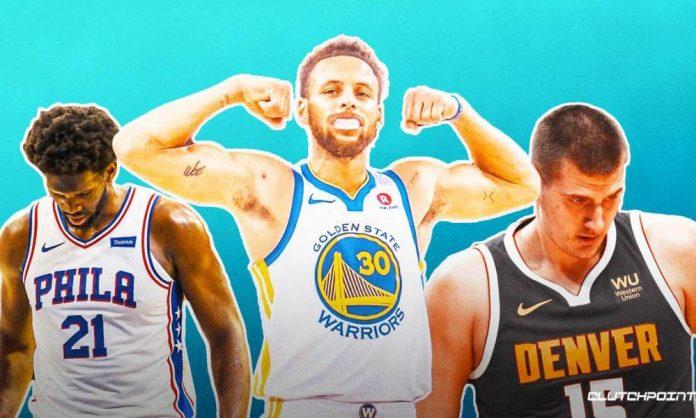 Stephen Curry, Warriors, Nikola Jokic, Joel Embiid