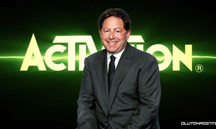 Activision Blizzard CEO cuts own salary and bonus
