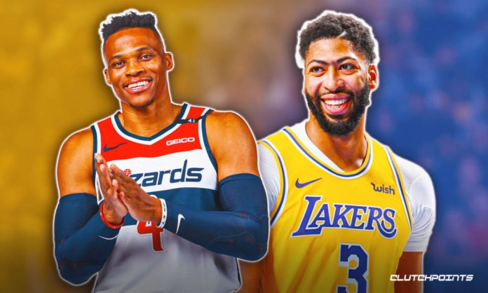 Lakers, Anthony Davis, Russell Westbrook, Wizards