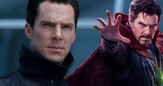 Beardless Benedict Cumberbatch Spotted Near Doctor Strange 2 Set