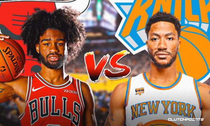 Bulls Knicks prediction odds pick