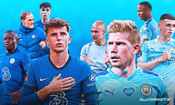Chelsea, Manchester City, Mason Mount, Kevin de Bruyne, Pep Guardiola, Thomas Tuchel