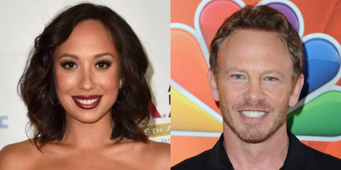 Cheryl Burke apologizes to Ian Ziering for 'frightful' 'Hitting the dance floor with the Stars' remarks