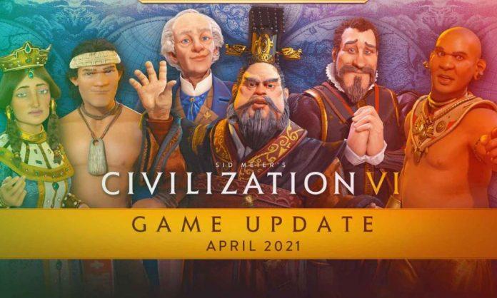 Civilization VI, New Frontier, April Update