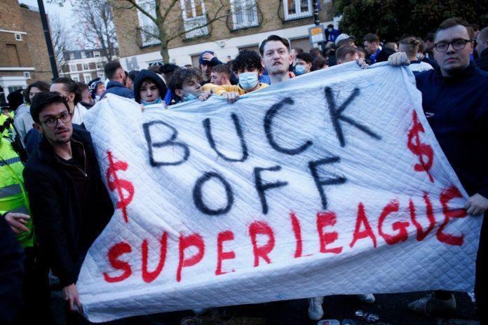 European Super League officially paused after Premier League exodus