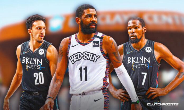 Nets, Kyrie Irving, Landry Shamet, Kevin Durant