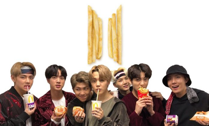 McDonald's to launch BTS meal in collaboration with the K-pop band in U.S. this May!!!
