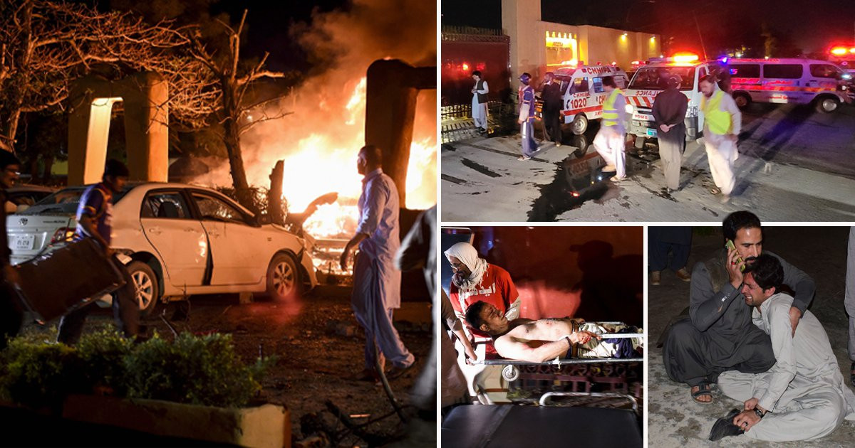 Pakistan: Four dead and 12 injured after bombing at luxury hotel