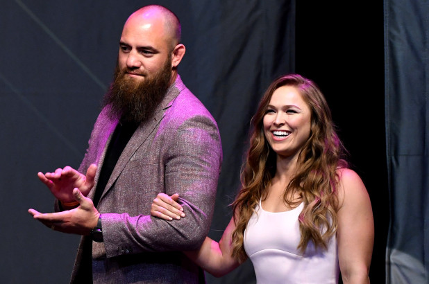 Ronda Rousey reveals she's PREGNANT with First Child in Home Video!!!