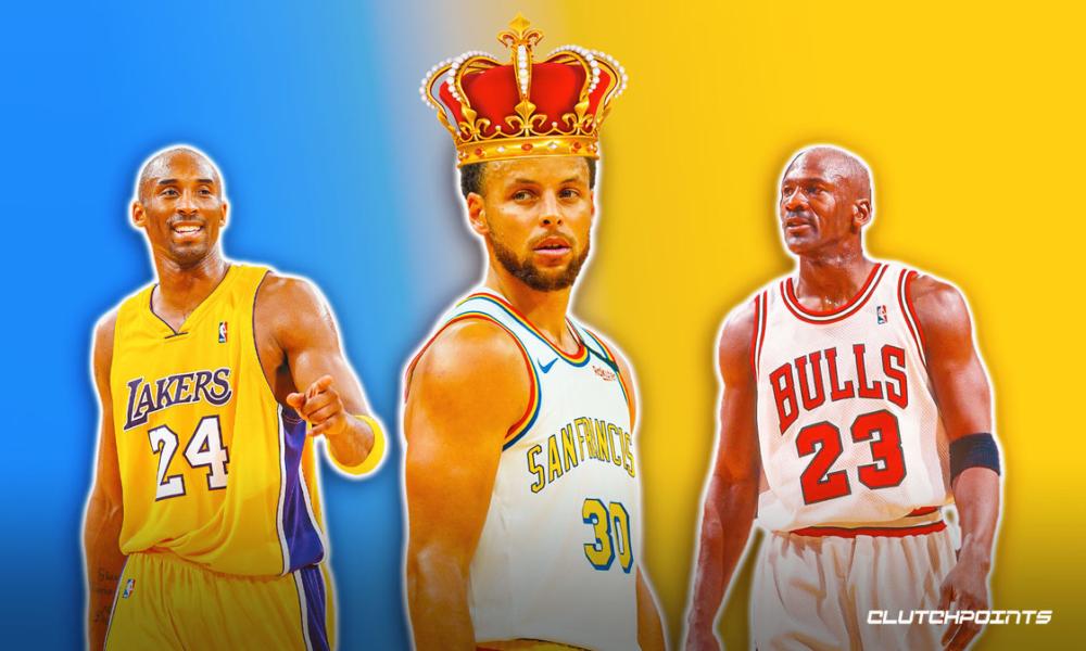 Stephen Steph Curry Kobe Bryant Michael Jordan Warriors