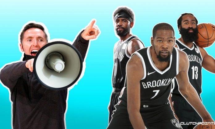 Steve Nash, Nets, Kevin Durant, James Harden, Kyrie Irving