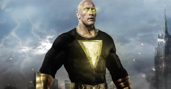 The Rock's Black Adam Suit Won't Have Any Padding