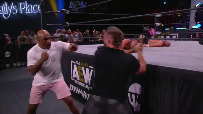 AEW Blood and Guts: FTR star Cash Wheeler on getting hit by Mike Tyson