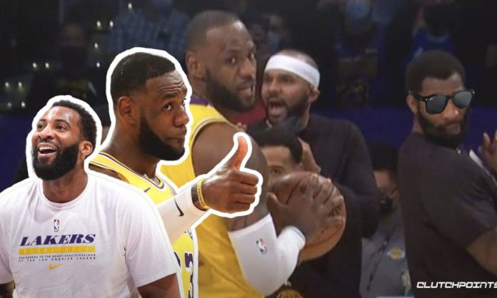 Andre Drummond, LeBron James, Lakers