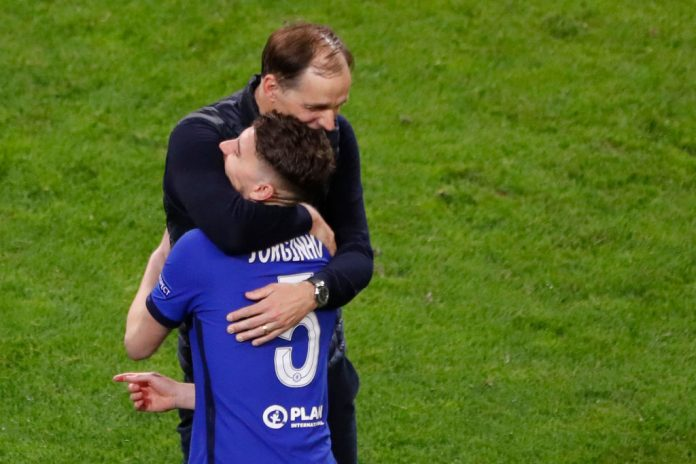 Chelsea star Jorginho drops transfer hint after Champions League win