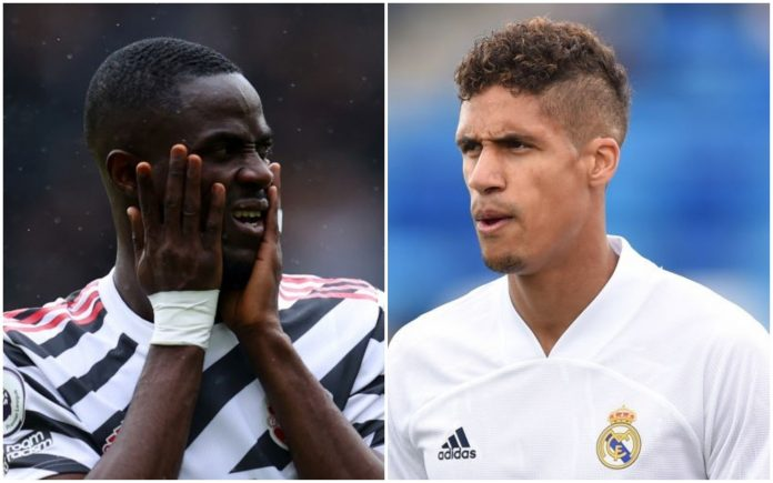 Eric Bailly responds to Man Utd's push to sign Raphael Varane from Real Madrid