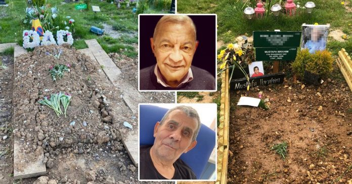 Families of Covid victims find out strangers were buried above them
