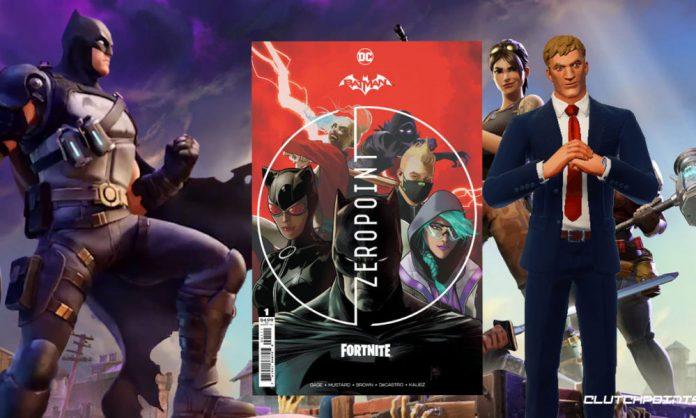 Fortnite, Batman Zero Point, gaming, DC, Epic Games