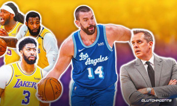 Marc Gasol, Lakers, Frank Vogel, Andre Drummond, Montrezl Harrell, Anthony Davis