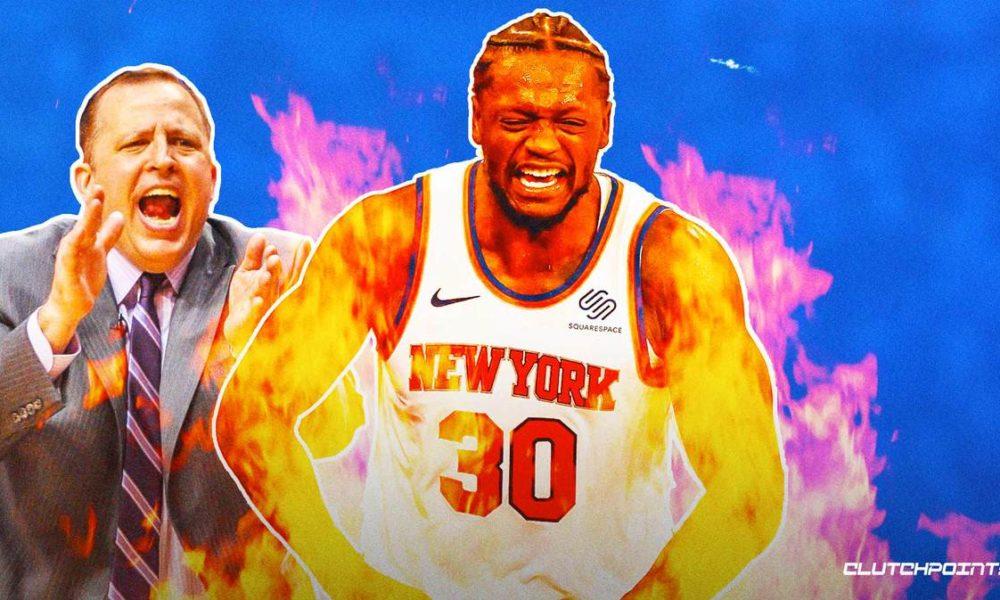 Knicks, Julius Randle, Tom Thibodeau