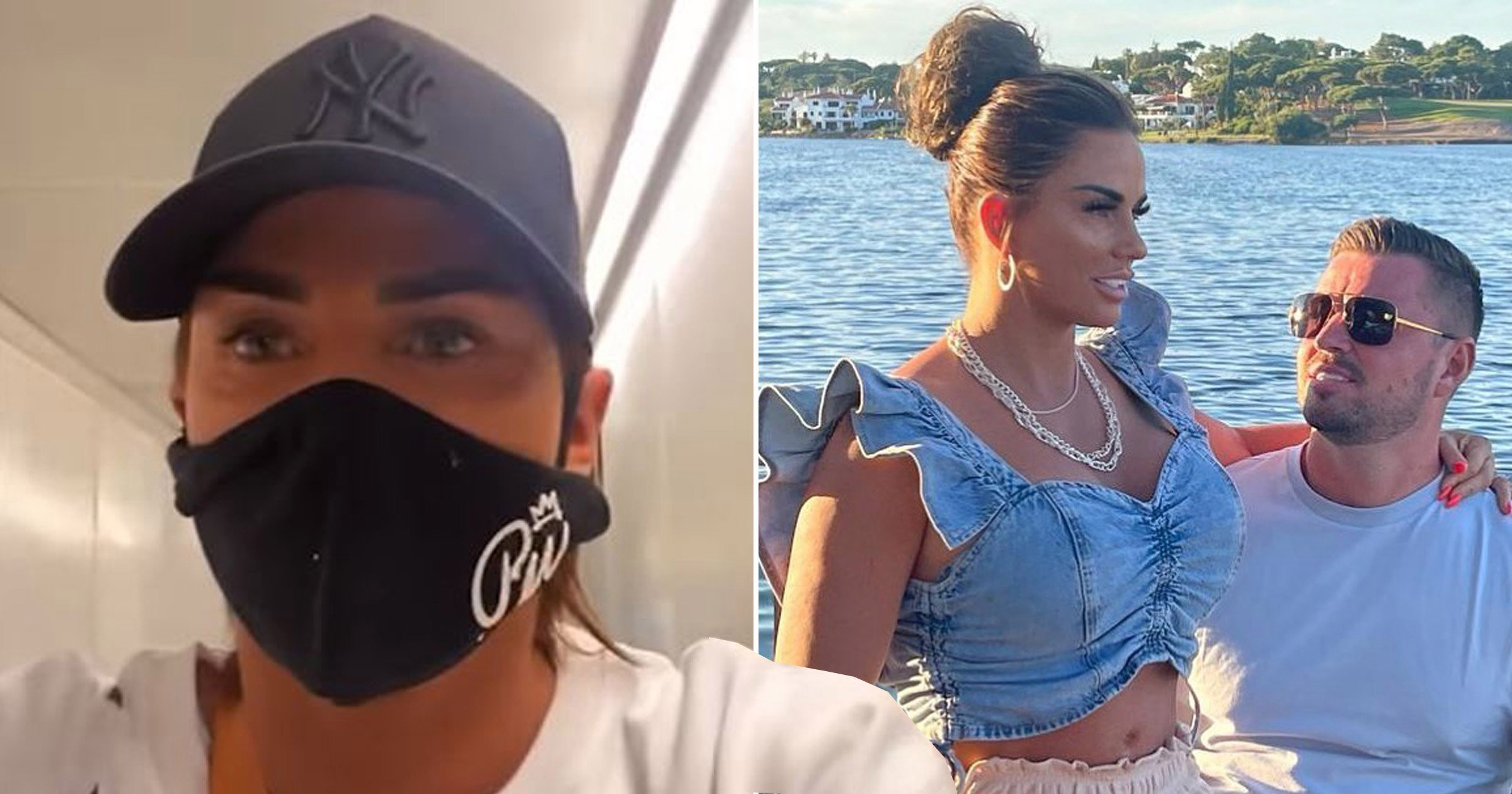 Katie Price's party claim Covid checks 'aren't in place' on UK return