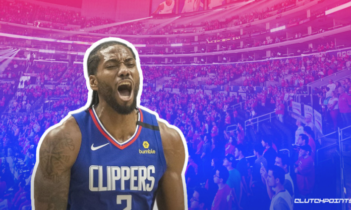Kawhi Leonard Clippers Mavs