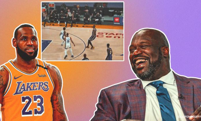 LeBron James Lakers Shaqtin