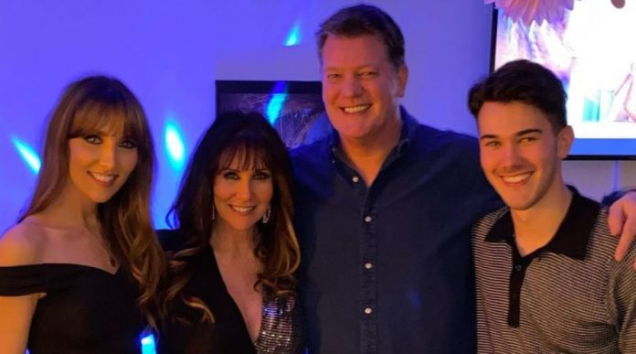 Linda Lusardi's children 'needed therapy' as she battled Covid-19