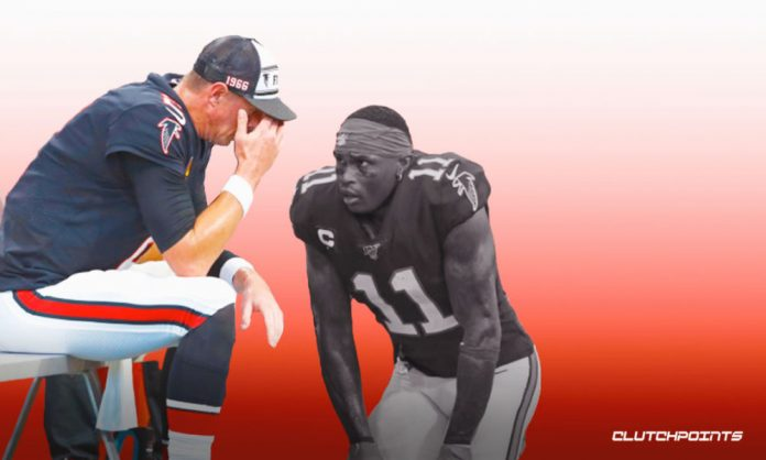 Matt Ryan, Julio Jones, Falcons
