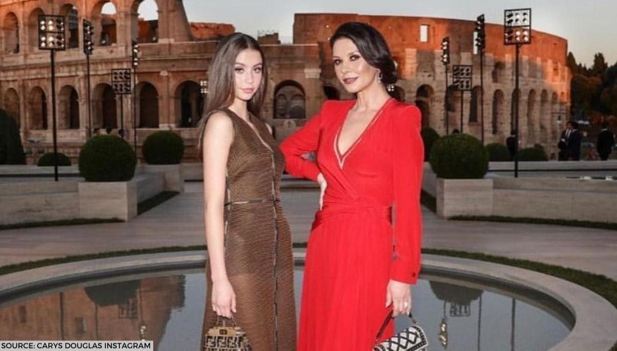 Michael Douglas, Catherine Zeta-Jones celebrate daughter Carys on her 18th birthday