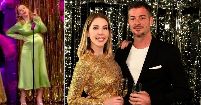 Pregnant Katherine Ryan hits back at sexist comments