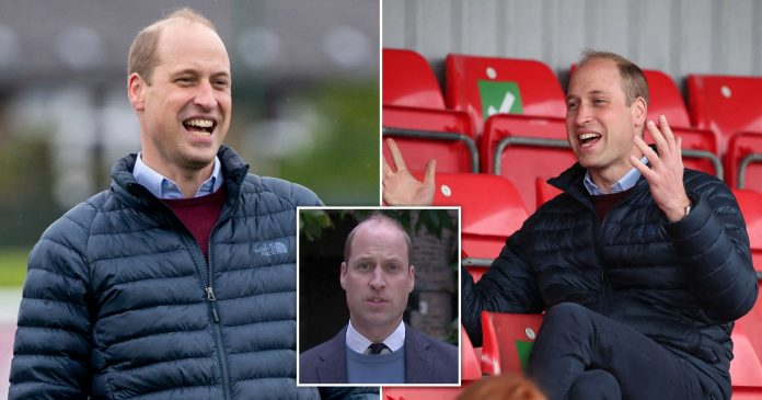 Prince William all smiles after Harry's fresh criticism of Royal Family