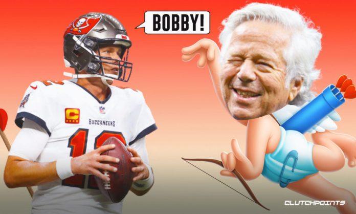 Robert Kraft, patriots, Tom Brady