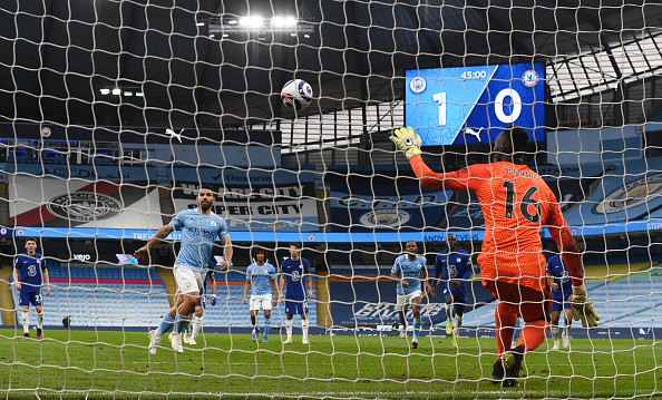 Sergio Aguero apologises after Panenka penalty miss in Chelsea defeat