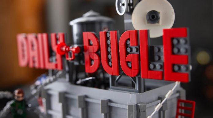 The LEGO Group is beginning to prod Marvel 76178 Daily Bugle!!!