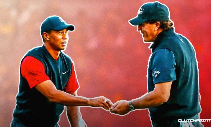 Tiger Woods, Phil Mickelson, PGA Championship