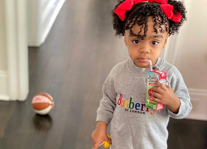 Toya Johnson's Baby Girl, Reign Rushing Is Slaying This Pose