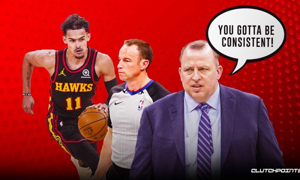 Knicks, Tom Thibodeau, Trae Young