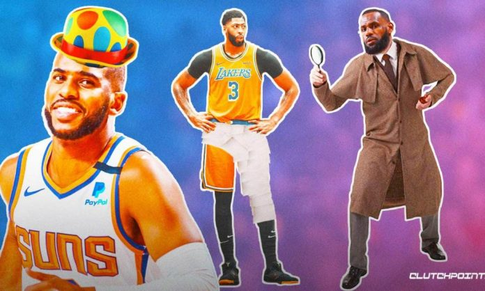Anthony Davis, Lakers, Suns