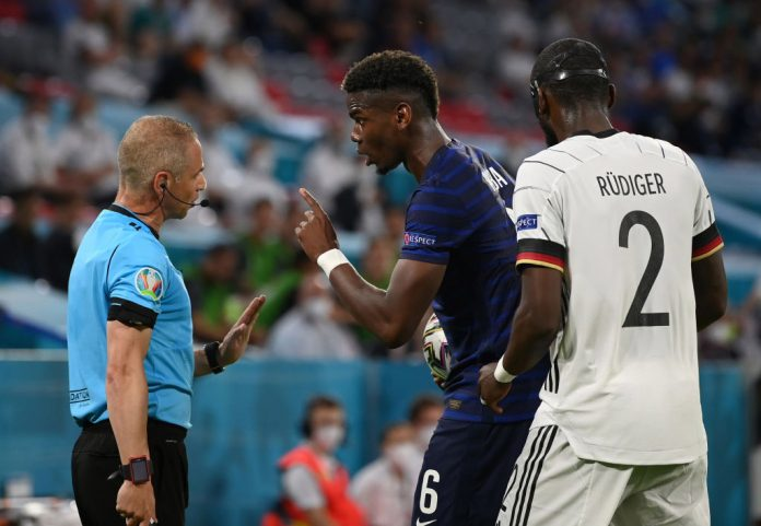 Antonio Rudiger speaks out on Paul Pogba bite after Euro 2020 France vs Germany match