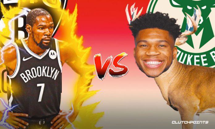 Bucks, Nets, Kevin Durant, Giannis Antetokounmpo