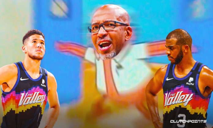 Suns, Clippers, Monty Williams, Devin Booker, Chris Paul