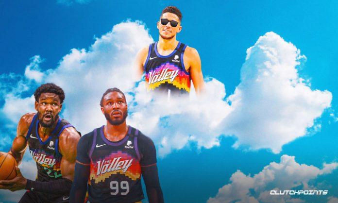Devin Booker, Suns, Game 1, Clippers, Jae Crowder