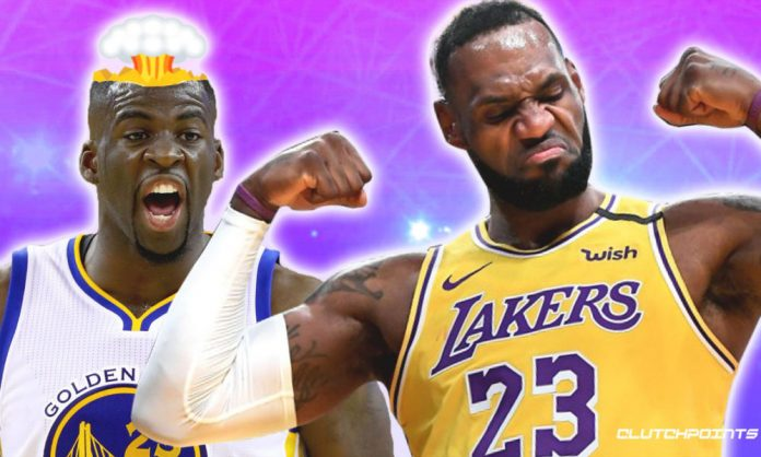 Warriors, Lakers, Draymond Green, LeBron James